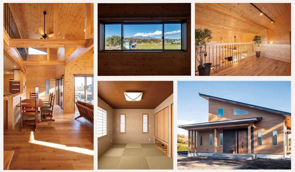 富士山の絶景を楽しむ「山小屋別荘風ZEH住宅」富士宮市
